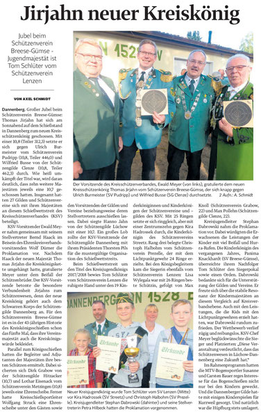 Elbe-Jeetztel_Zeitung 04. September 2017