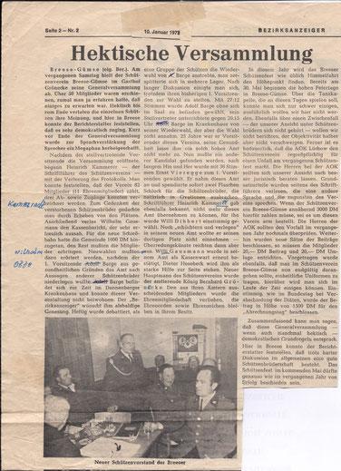 Bezirksanzeiger 10.Januar 1973