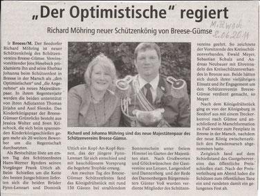Elbe-Jeetzel-Zeitung 8.Juni 2011