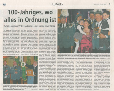Elbe-Jeetzel-Zeitung 31.Mai 2014