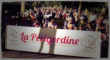 Depart Cyclosportive la Perigordine 2016