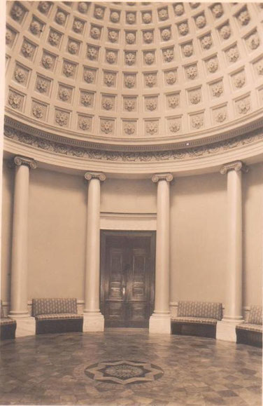 Kuppelsaal Palais Weimar - Archiv W.Malek