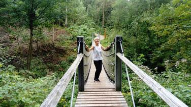 Hängebrücke Weltwald