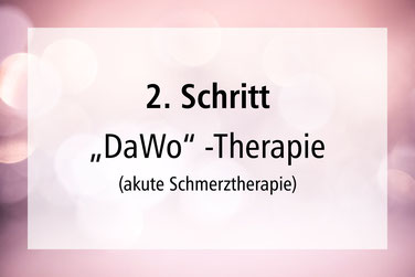 2.Schritt akute Schmerztherapie Schmerzen Lebensfreude Rückenschmerzen Nackenschmerzen