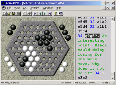 ABA-PRO - Abalone playing program