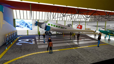 Spektakuläre Sonderausstellung im Flieger Flab Museum