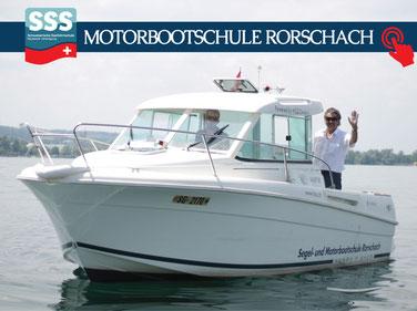 Motorbootschule Bodensee | Bootsfahrschule | www.schweizerische-seefahrtschule.ch