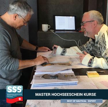 Hochseeschein Coaching   www.schweizerische-seefahrtschule.ch