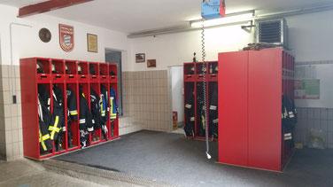 Mannschaftsraum