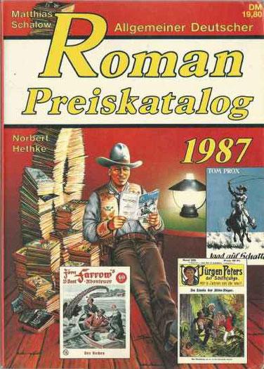 2.Allgemeiner Roman Preiskatalog 1987