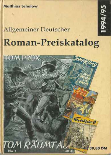 5.Allgemeiner Roman Preiskatalog 1994/1995