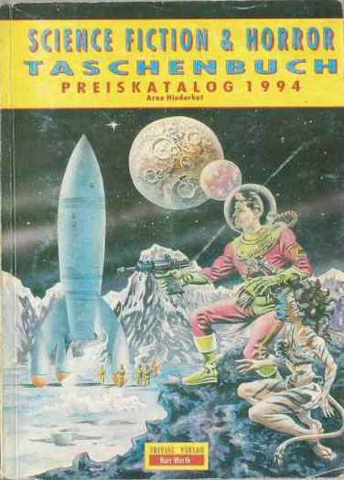 Science Fiction & Horror Taschenbuch Preiskatalog 1994