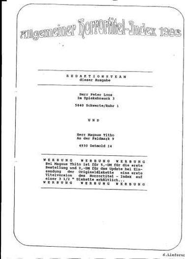 Allgemeiner Horrortitel-Index Seite 2
