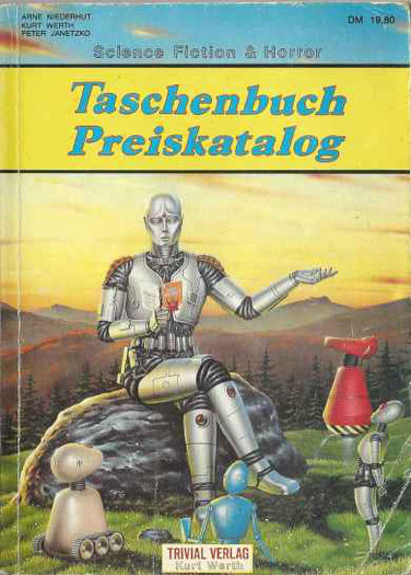Science Fiction & Horror Taschenbuch Preiskatalog 1990
