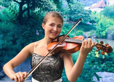 Eva-Maria Wieser, Violine
