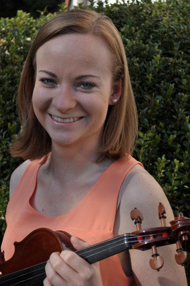 Eva Moser, Violine (Foto: Dieter Kohlweiß)