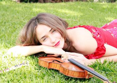 Ksenia Dubrovskaya, Violine