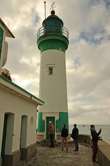 Leuchtturm in Le Tréport.