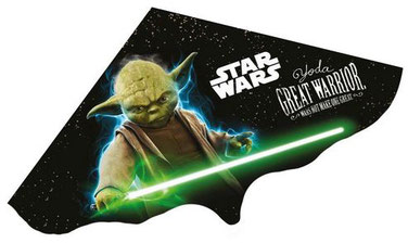 Star Wars Winddrachen mit Yoda