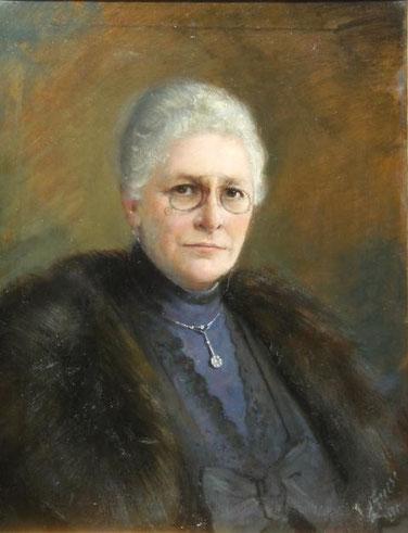 Portrait der Clara Beug, geb. Biener