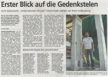 Zollernalbkurier, 24.05.2014