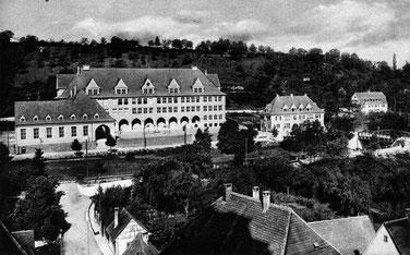Sichelschule um 1928 (Foto: Stadtarchiv Balingen)