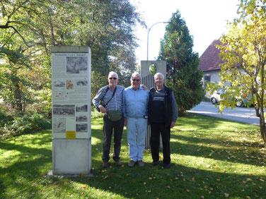 Die Brüder de Gunsch mit Immo Opfermann (Mitte)
