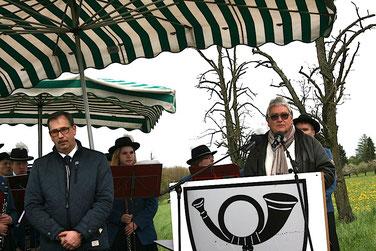 Immo Opfermann – Rede in Engstlatt am 3. Mai 2015 (Foto: U. Hentsch)