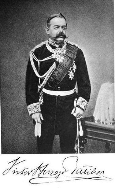 Viktor Herzog Ratibor Goldene Kette Roter Adlerorden Großkreuz Preußen Admiral