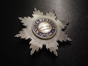 Orden der Eisernen Krone, Bruststern