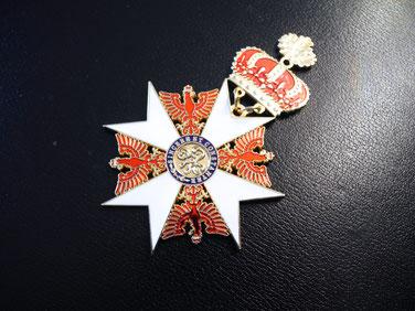 Roter Adlerorden, Großkreuz mit Eichenlaub und Krone