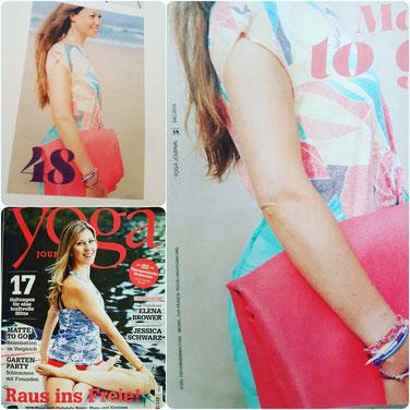 Yoga Journal Model Eva Paasch Travelling Yogini