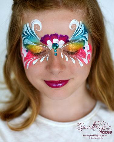 Kinderschminken_Vorlagen; Schminkfarben_kaufen_Schweiz; Kinderschminken_Kurse; einfach; Prinzessin