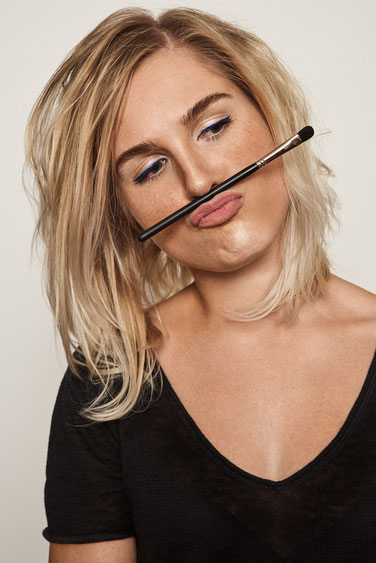 roter Lippenstift Makeup Artist
