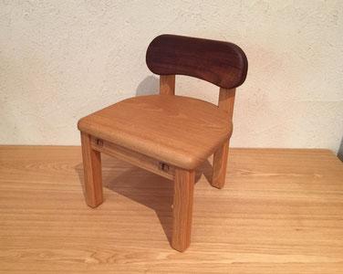 無垢子供椅子