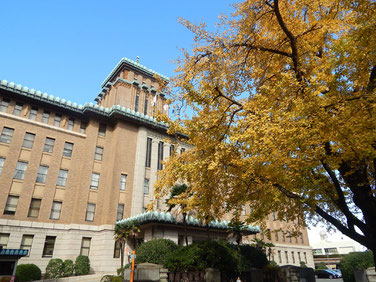 横浜三塔 キングの塔 神奈川県庁本庁舎 2016年11月25日