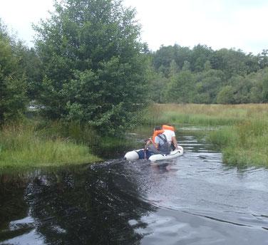 Prospection des milieux aquatiques (87)