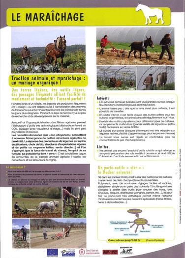 SLECTTA - maraichage à cheval