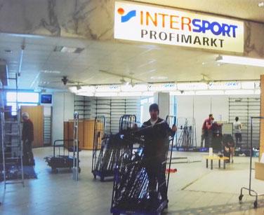Neueröffnung Profimarkt nach Umbau 2013