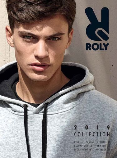 catálogo Roly prendas para personalizar