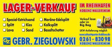 Lagerverkauf Schüttgüter Koblenz