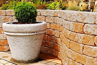 PiccoTrapez Gartenmauer