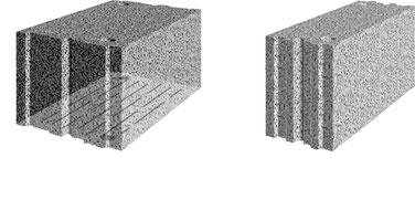 KLB-Plansteine, Verarbeitung