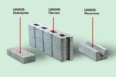 Filtersteine/Drainagesteine