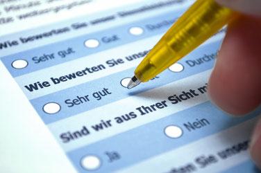Online-Umfrage zur neuen Internetseite von 4sigma
