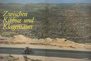 Unterwegs nach Hebron im West-Jordanland