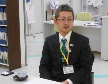 興田地区振興会  地域協働推進員 千田秀明さん