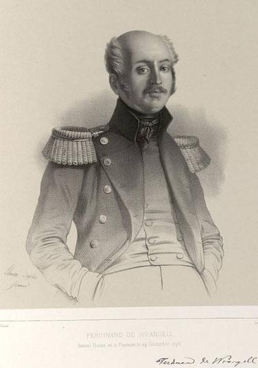 Барон Фердинанд Петрович Врангель в 1827 году