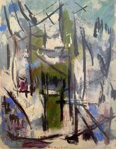Henriette Bounin. Galerie du fleuve. Bordeaux. Galerie Fondatrice Peinture indépendant.