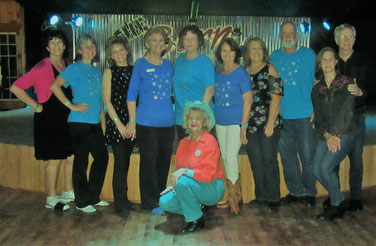 Space Coast Line Dancers Dancers Night Out at the Barn in Sanford  Dec 29 2018